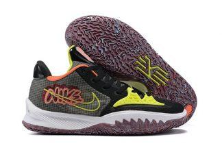 CZ0105-002 Nike Kyrie Low 4 Black Turf Orange