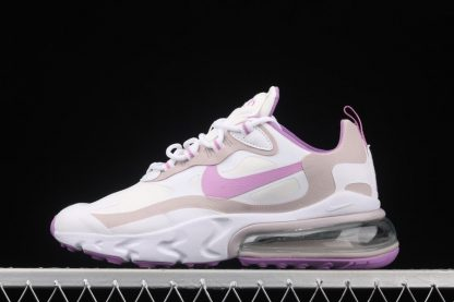 CZ1609-100 Womens Nike Air Max 270 React Light Violets