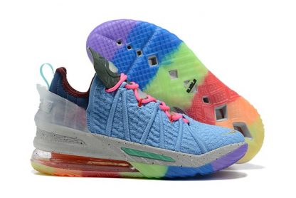 DM2813-400 Nike LeBron 18 Best 1-9