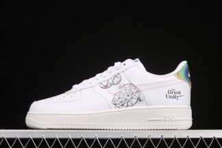 DM5447-111 Nike Air Force 1 Low The Great Unity White
