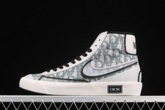 Dior x Nike Blazer Mid 77 Vintage White Grey