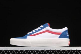 Doraemon x VANS OG Old Skool LX White Blue Red