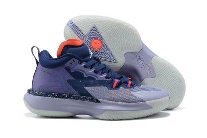Glow-In-The-Dark Jordan Zion 1 ZNA Blue Void Fierce Purple