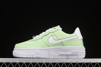 KylieBoon x Nike Air Force 1 Pixel SAGE White Green