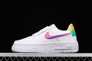Ladies Nike Air Force 1 Pixel Iridescent White