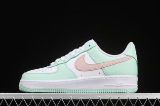 Nike Air Force 1 Low White Green Pink