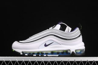 Nike Air Max 97 Kaomoji White Black-Signal Blue-Court Purple