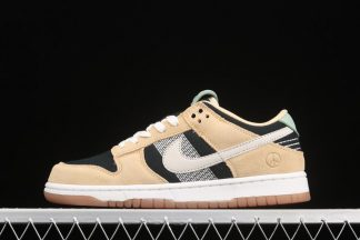 Nike Dunk Low Rooted in Peace Pale Vanilla Sail-Black-Silver Pine