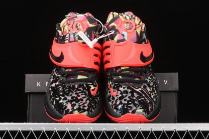 Nike KD 14 Ky-D Dream Black Red Yellow Front