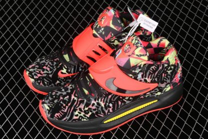 Nike KD 14 Ky-D Dream Black Red Yellow Top