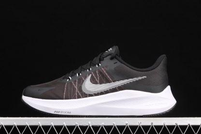 Nike Winflo 8 Black Grey White Running Shoes