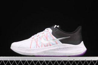 Nike Winflo 8 White Black Flash Crimson CW3419-101 To Buy