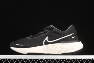 Nike ZoomX Invincible Run Flyknit Black White Running Shoes