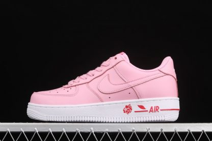 Pink Foam Nike Air Force 1 07 LX Have A Nike Day With A Rose