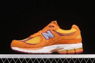 Salehe Bembury X New Balance 2002R Orange Hairy Suede On Sale