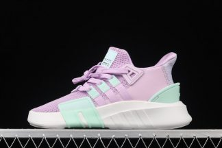 Womens adidas EQT Bask ADV Classic Casual Shoes In Purple