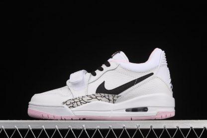 Youth Size Jordan Legacy 312 White Black Pink Foam AT4040-106 To Buy