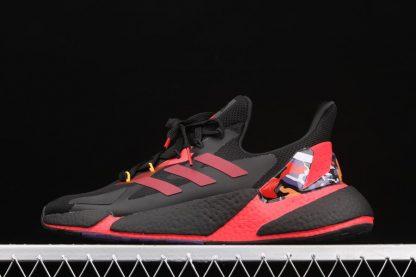 adidas X9000L4 CNY Core Black Orange-Scarlet