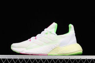 adidas X9000L4 Cloud White Solar Green Womens