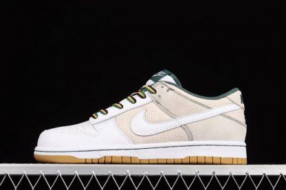 308608-011 Nike Dunk Low Light Bone White-Gum Light Brown