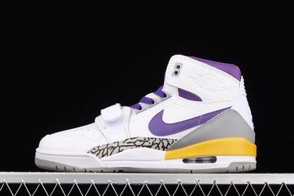 AV3922-157 Jordan Legacy 312 Lakers White Field Purple-Amarillo