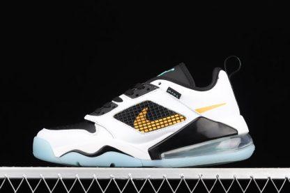 CK1196-101 Jordan Mars 270 Low White Black-Bright Orange Swooshes