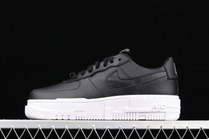 CK6649-001 Black White Nike Air Force 1 Pixel