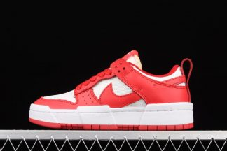 CK6654-601 Nike Dunk Low Disrupt Siren Red Outlet