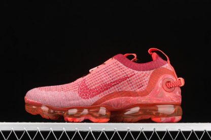 CT1823-600 Nike Air VaporMax 2020 Flyknit Team Red Gym Red-Flash Crimson