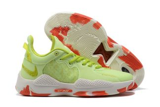 CW3146-701 Nike PG 5 Pao Jiao Pickled Peppers Barely Volt Cyber-Team Orange
