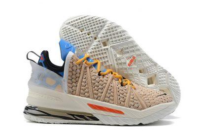 CW3156-900 Nike LeBron 18 Majestic Ferocity Tan