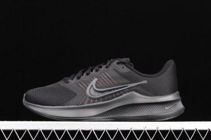 CW3411-002 Nike Downshifter 11 Black Smoke Grey Running Shoes