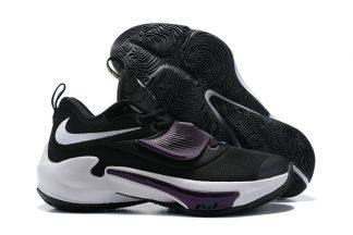 DA0695-001 Nike Zoom Freak 3 Project 34 Black White Purple