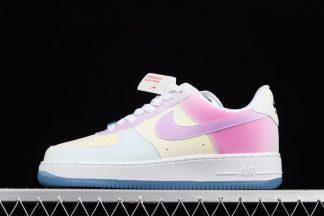 DA8301-100 Nike Air Force 1 07 LX UV Reactive Changes Colors