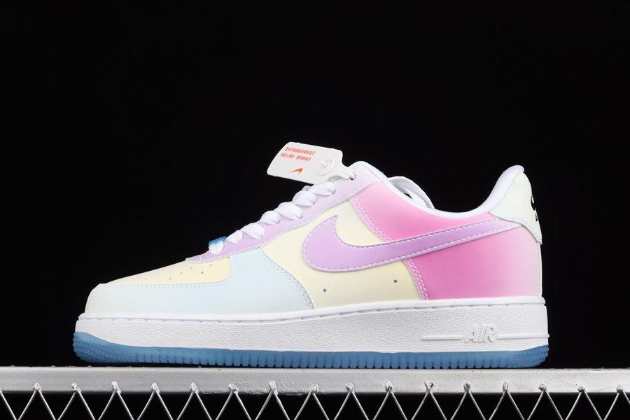 "DA8301-100 Nike Air Force 1 '07 LX ""UV Reactive"" Changes Colors ..."