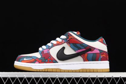 DH7695-600 Parra x Nike SB Dunk Low Pro Abstract Art