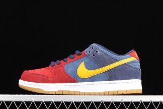 DJ0606-400 Nike SB Dunk Low Barcelona Red Navy Yellow