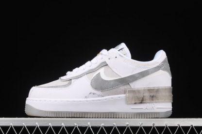 DJ4635-100 Nike Air Force 1 Shadow Goddess of Victory White Grey