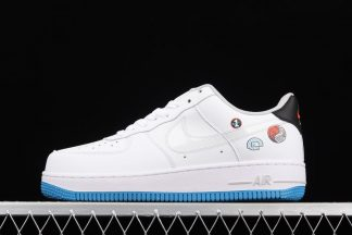 DM8088-100 Happy Hoops Nike Air Force 1 Low Sticker White Blue