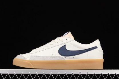 DM8334-100 Nike Blazer Low 77 Vintage Sail Navy Gum