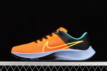 DM9052-800 Nike Air Zoom Pegasus 38 Unity Hyper Crimson Yellow Strike