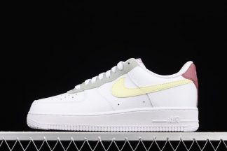 DN4930-100 Nike Air Force 1 Low Muted Pastels White Yellow