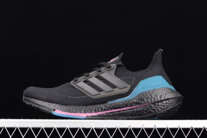 FZ1921 adidas Ultra Boost 2021 Carbon Active Teal