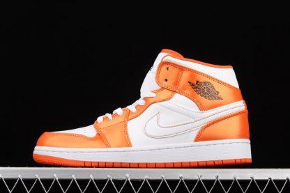 Jordan 1 Mid White Electro Orange DM3531-800 To Buy