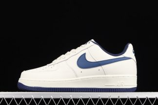 Nike Air Force 1 Low White Navy Pas Cher