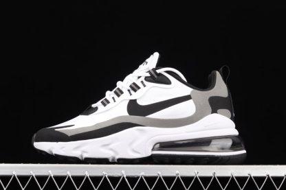 Nike Air Max 270 React Oreo White Black-Metallic Pewter