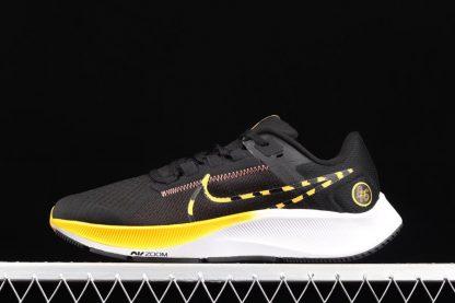 Nike Air Zoom Pegasus 38 Blue Ribbon Sports Black Yellow