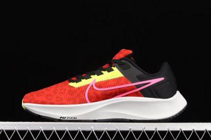 Nike Air Zoom Pegasus 38 Chile Red Hyper Pink-Black-Platinum Tint
