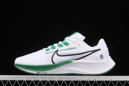 Nike Air Zoom Pegasus 38 White Green Running Shoes