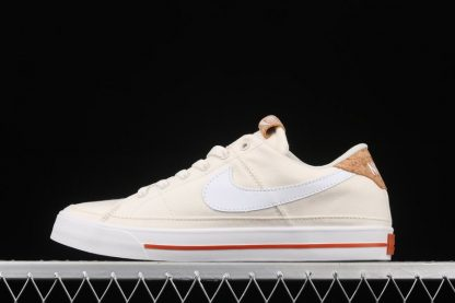 Nike Court Legacy SE Pale Ivory Multi-Color Gum Light Brown White